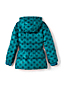 Little Girls' Midweight Patterned Skirted Down Parka
