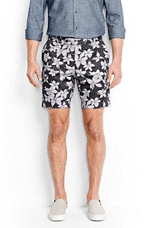 Men's Floral Print Shorts