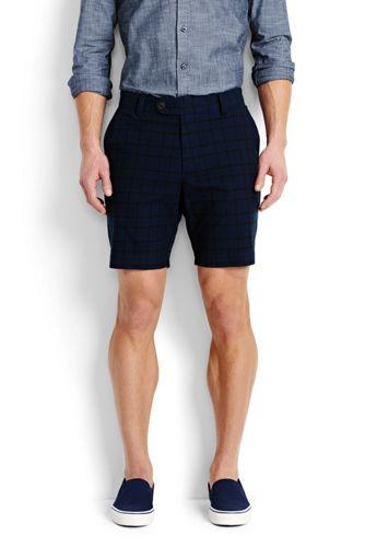 Moderne Karo-Shorts für Herren