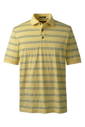 Men's Regular Jacquard Stripe Supima® Polo