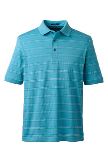 Men's Jacquard Stripe Supima® Polo