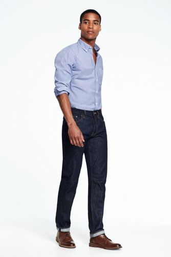 Men's Bias Stripe Poplin Shirt