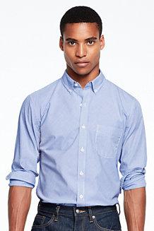 Streifen-Popelinhemd für Herren, Slim Fit