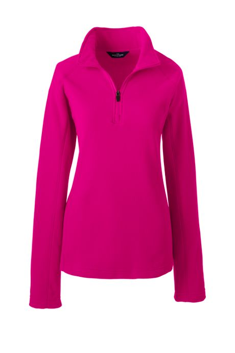Women's Plus Size Thermacheck 100 Half Zip Fleece Pullover