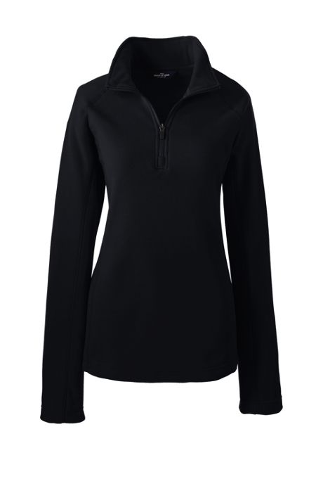 School Uniform Women's Thermacheck 100 Quarter Zip Fleece Pullover