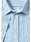 La Chemise en Lin Manches Courtes à Motifs, Homme Stature Standard