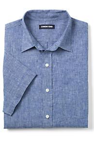 a876d75a56a78 Men s Short Sleeve Linen Shirt