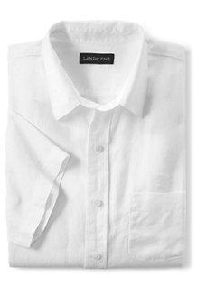 Men's Short Sleeve Linen Shirt