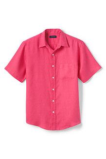 Leinen-Kurzarmhemd für Herren
