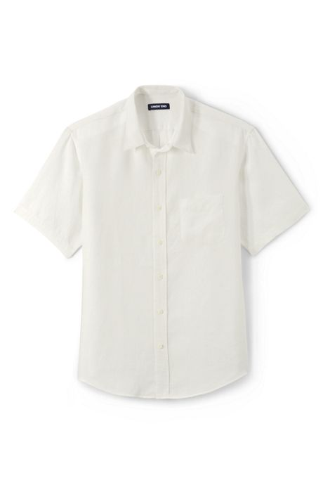Men's Tailored Fit Linen Shirt
