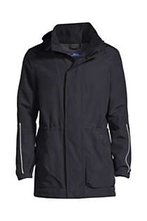 School Uniform Men's Outrigger Reflective Parka, Front