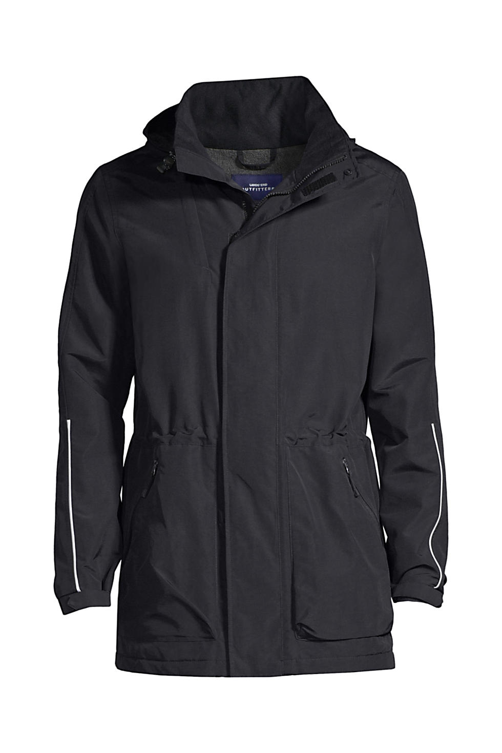 Lands' End Men's Outrigger Reflective Parka