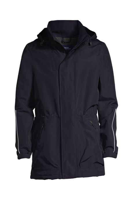 School Uniform Men's Big Outrigger Reflective Parka
