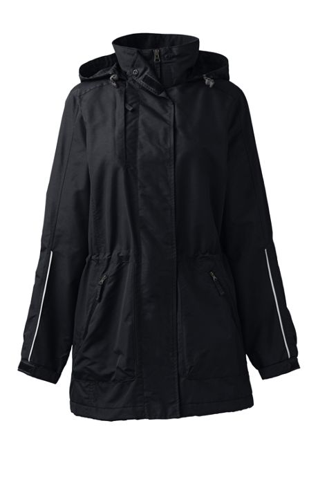 School Uniform Women's Plus Outrigger Reflective Parka