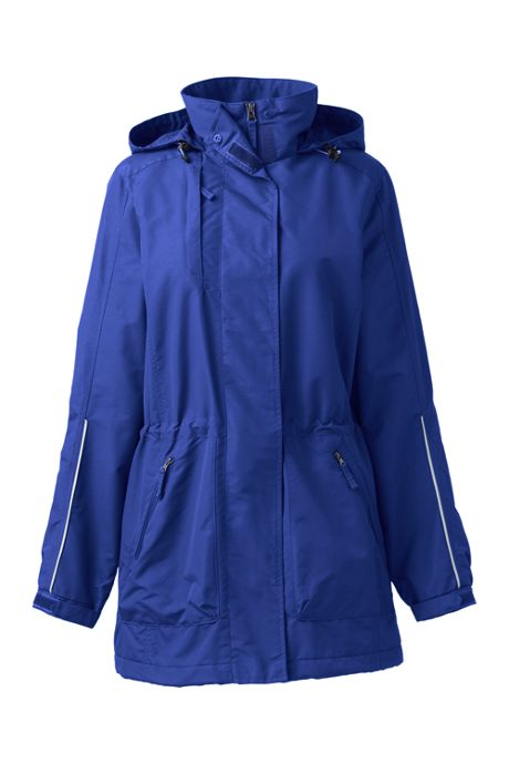 School Uniform Women's Plus Size Outrigger Reflective Parka