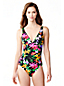 Women's Veranda Floral V-neck Swimsuit