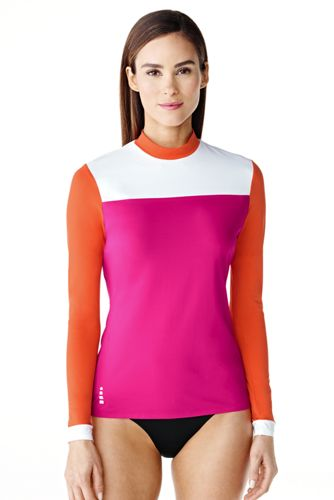 Le T-Shirt de Bain Coupe Slim Femme
