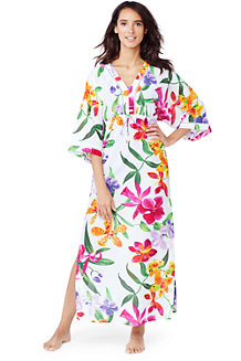 Women's Maxi Caftan Cover-up Floral