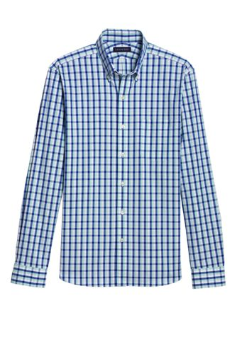 Gemustertes Alpha Buttondown-Hemd für Herren
