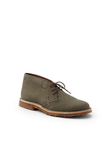 Men's Sustainable Canvas Desert Boots