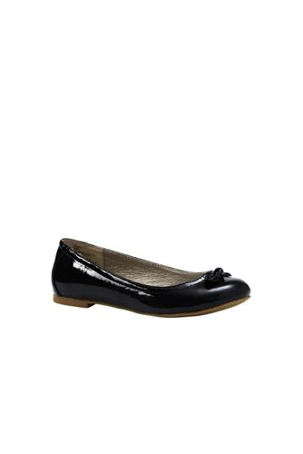 Girls' Bow Ballet Pumps