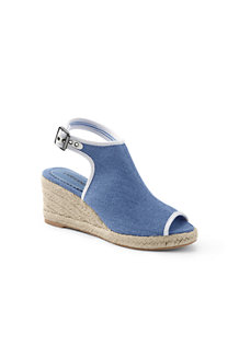 Women's Peep-toe Wedge Sandals
