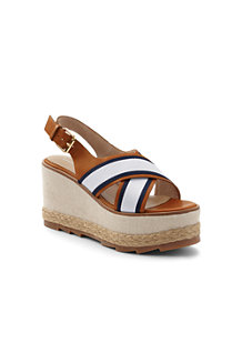 Women's Cross-strap Platform Sandals