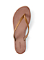 Women's Leather Flip Flops