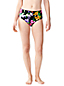 Women's Veranda Floral Retro High Waist Bikini Bottoms