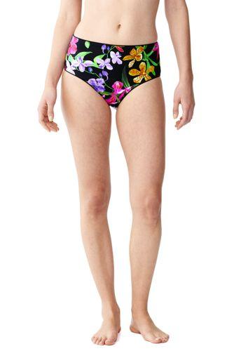 Retro High Waist-Bikinihose Veranda Floral
