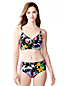 Women's Veranda Floral Triangle Midkini Top