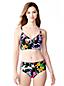 Women's Veranda Floral Triangle Midkini Top