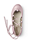 Girls' Laced Ballet Shoes