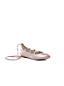 Girls' Laced Ballet Pumps