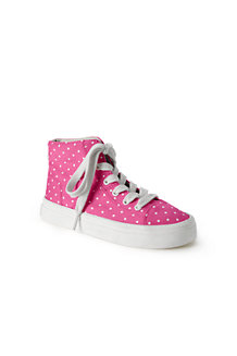 Girls' Canvas High Tops