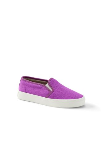 Gemusterter Canvas-Slipper