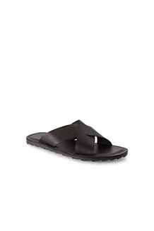 Men's Cross-strap Leather Sandals