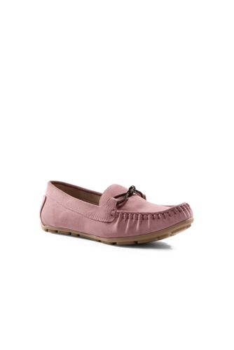 Women's Suede Moccasin Loafers