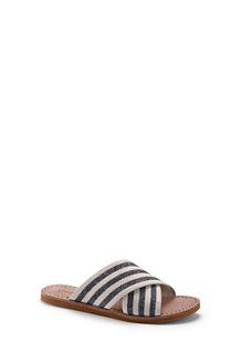 Women's Crossover Slip-on Sandals