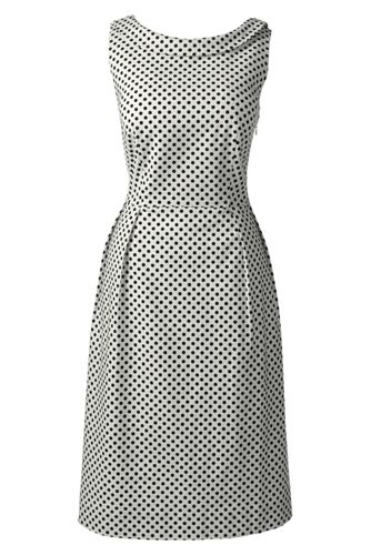 Women's Regular Pattern Portrait Collar Dress