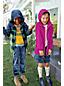 Gemusterte Regenjacke mit Packfach für kleine Jungen