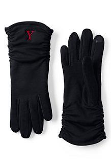 Kaschmirweiche Handschuhe mit Raffung