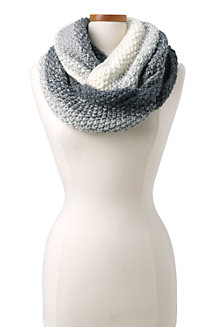 Women's Ombre Knit Infinity Scarf
