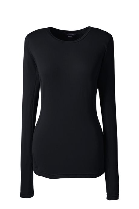 Women's Plus Size Thermaskin Merino Crewneck