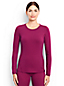 Women's Regular Thermaskin Heat Natural Crew Neck