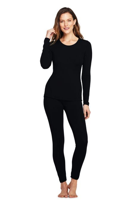 Women's Merino Base Layer Long Underwear Thermaskin Crew