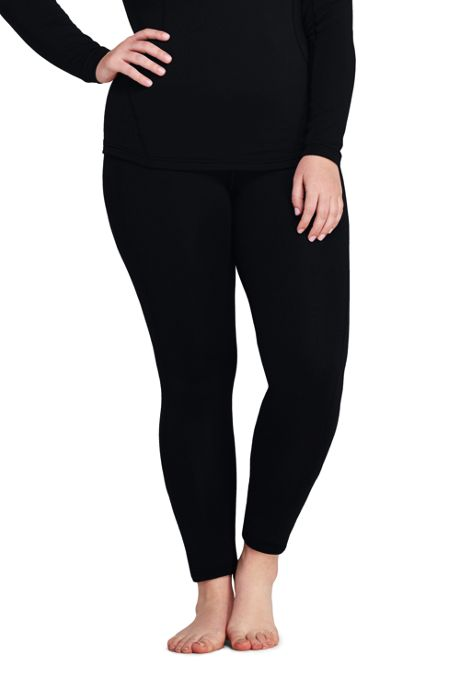 Women's Plus Size Merino Base Layer Long Underwear Thermaskin Pant