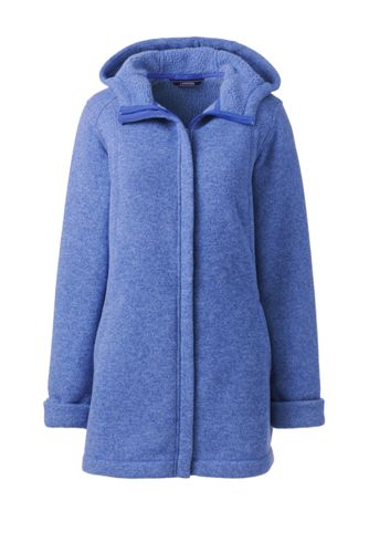 15821f67 Women's Sweater Fleece Parka from Lands' End