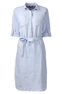 Women's Linen Shirtdress