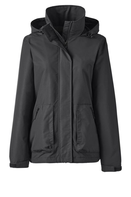School Uniform Women's Plus Outrigger Fleece Lined Jacket